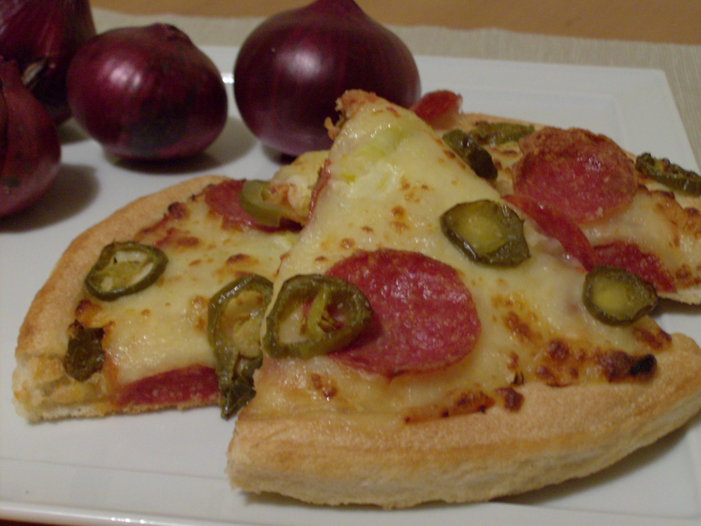 Pizza z peperoni