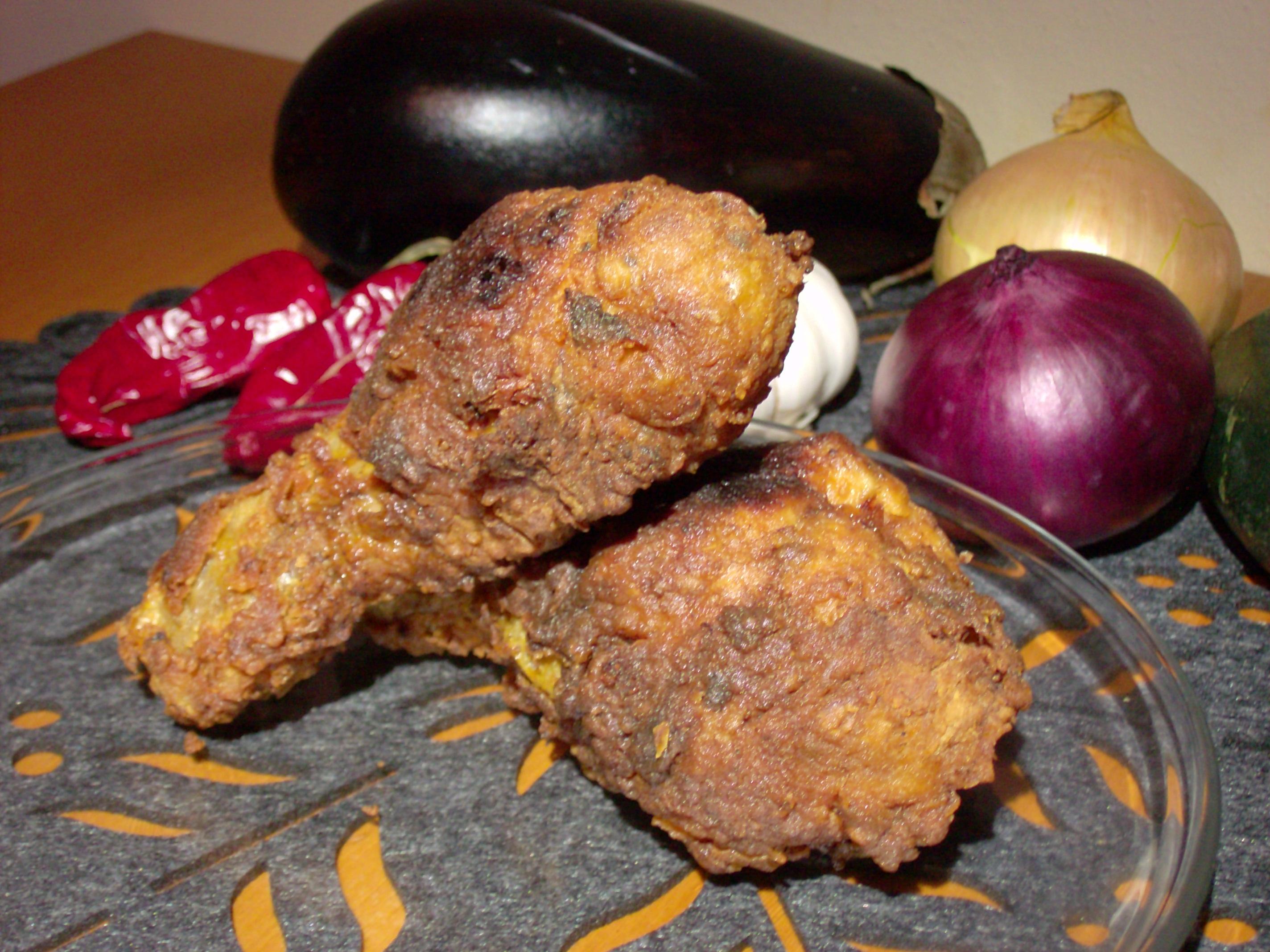 Pałki kurczaka w chrupiącej skorupce