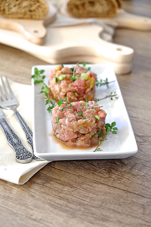 Tatar z tuńczyka