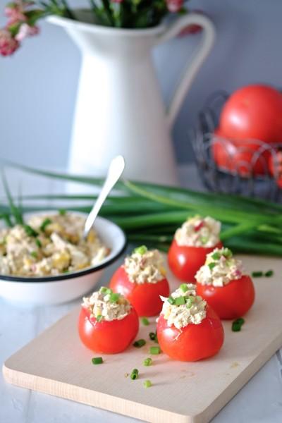 Pomidory z tuńczykiem