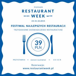 PoznanRestaurantWeek2015